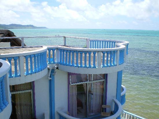 Coco Villa: Blick vom Balkon