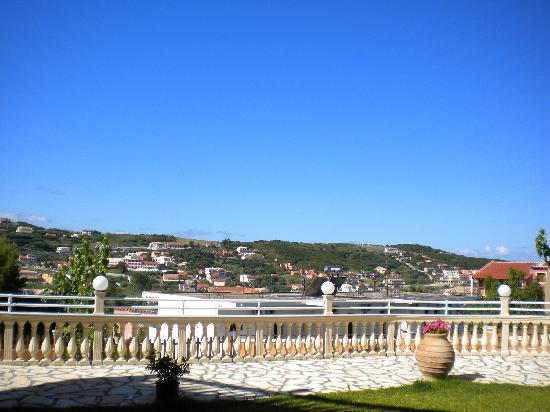 Kapetanios Apartments: view from room 18