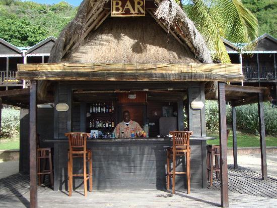 Tamarind Beach Hotel & Yacht Club: Beach Bar