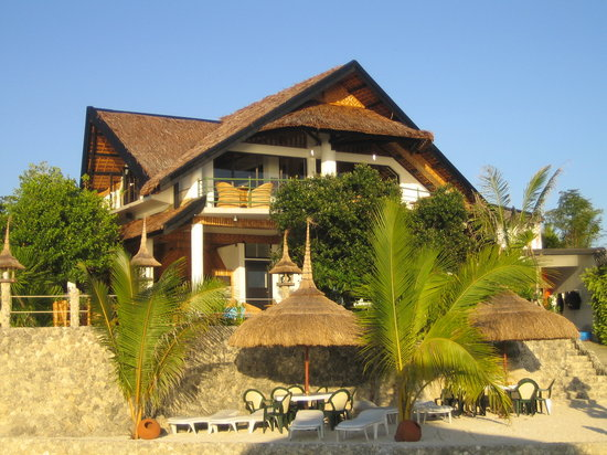 Dolphin-House Resort-SPA-Diving : Haupthaus vom Meer