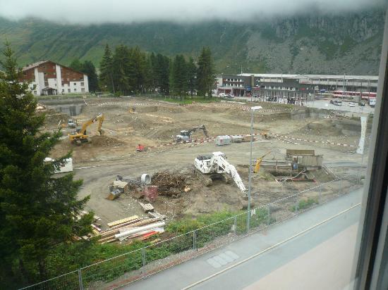 Hotel Badus: vista dalla finestra della camera