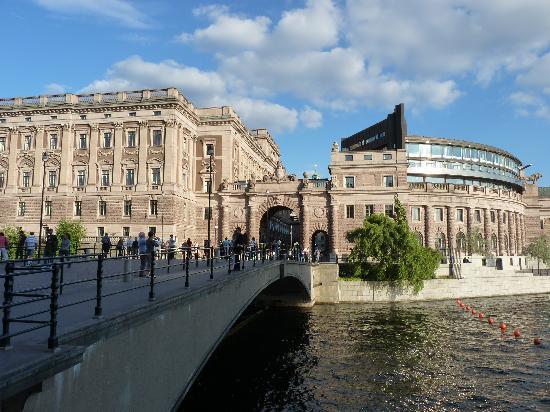 Stockholm, Sweden: parlement
