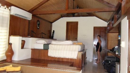 Villa Nautilus: La chambre !!! plutot la villa