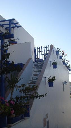 Villa Galini: Die Anlage ist einfach herzlich mit viel Liebe zum griechischen Detail