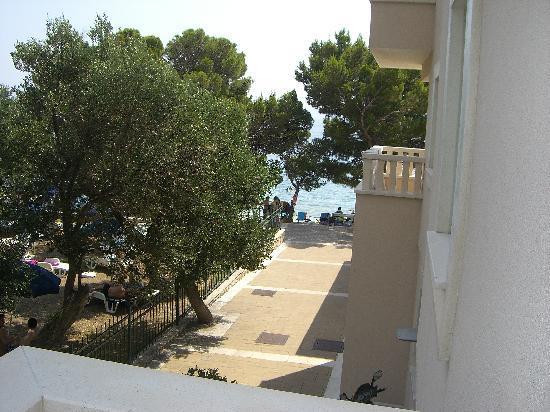 Aparthotel Tamaris: Utsikt mot sjøen