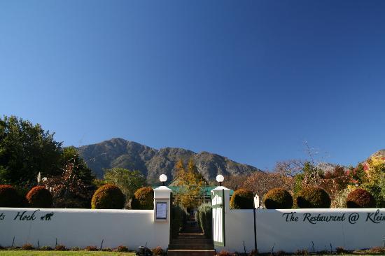 Residence Klein Oliphants Hoek: von aussen