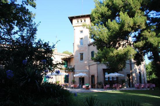Villa Giulia: breakfast/dinnerplace