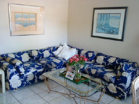 Dania Beach, فلوريدا: Wohnzimmer