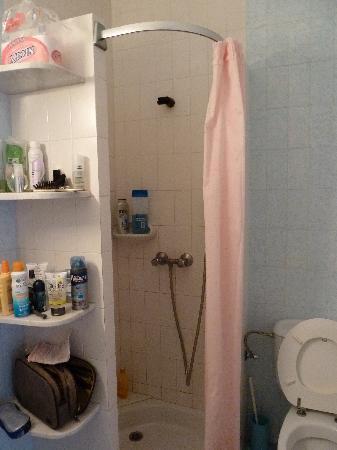 Las Dunas: La salle de bain ; bon c'est LE truc simplet