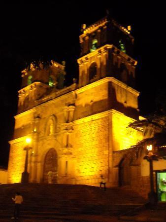 El Carambolo: catedral Barichara