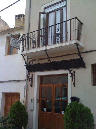Entrada del Hotel La Seguiriya