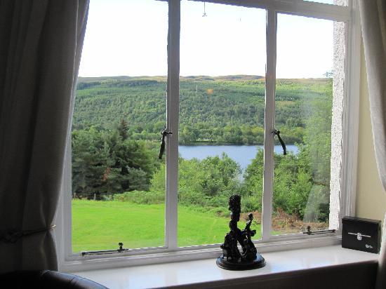 Glenurquhart House Hotel: View from the Sitting Room