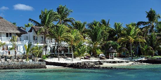 20 Degres Sud Hotel : Hôtel 20°Sud Vue de la mer