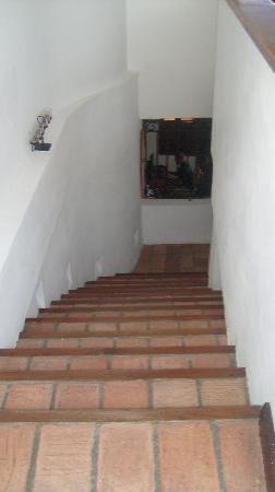 Hotel Portal de San Diego: escaleras