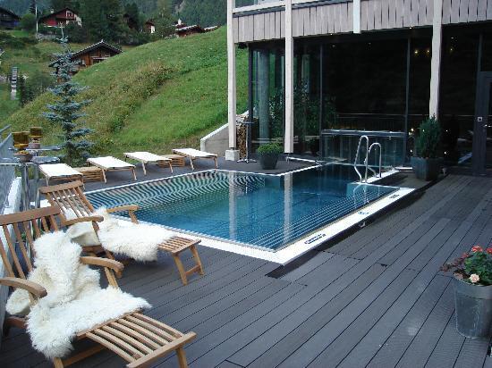 Hotel outdoor pool design  outdoor heated pool - Picture of Matterhorn Focus - Design Hotel ...