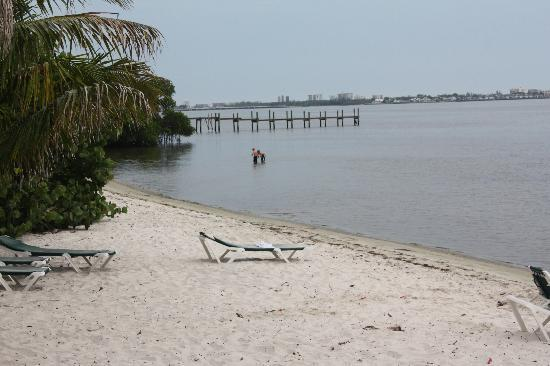 River Palms Cottages and Fish Camp: Beach on the Indian River