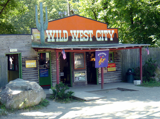 Wild West City: Entrance to the park