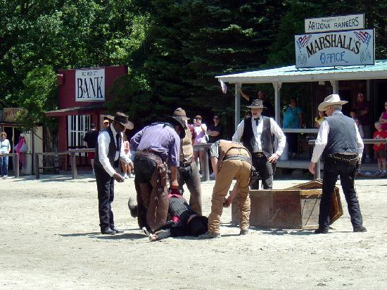 Wild West City: One of the many live action shows