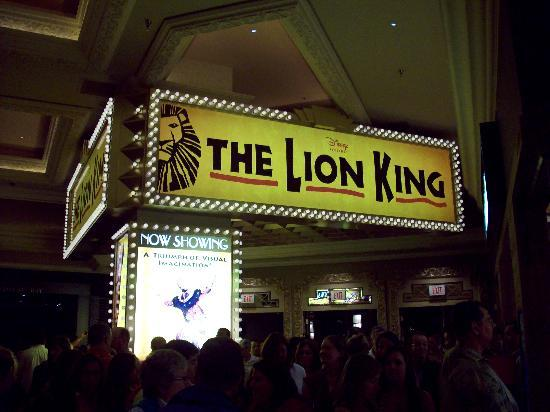 The Lion King: Lion King Marquee