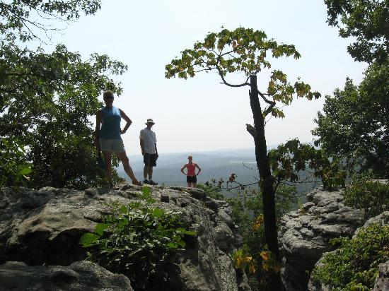 shawnee national forest outlook from indian ridge trail at garden of the gods illinois - Shawnee National Forest Garden Of The Gods