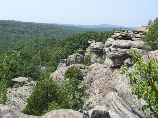 Shawnee National Forest: more cool views from G of G.