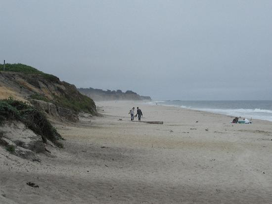 Half Moon Bay, Californien: Looking south