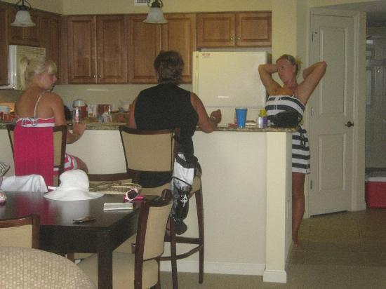 Tilghman Beach Golf Resort In Side Are Condo This Is The Kitchen