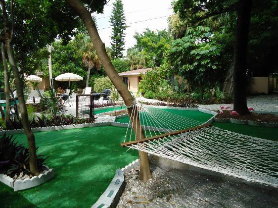 "Parrot Nest: ""Mini"" Golf Course and Hammock"