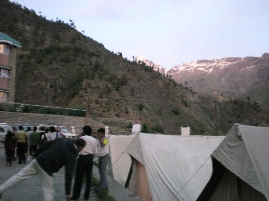 Keylong, India: View from outside