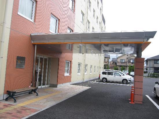 Chisun Inn Utsunomiya Kanuma: ホテル玄関
