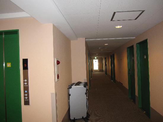 Chisun Inn Utsunomiya Kanuma: ホテル廊下