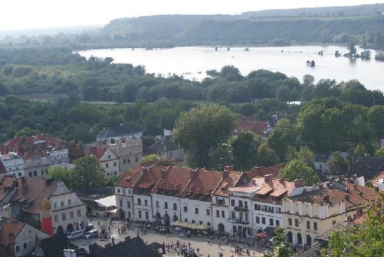 Krol Kazimierz Hotel: view