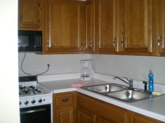 Dewitt Hotel & Suites: Cocina, suficiente para 1/2 personas