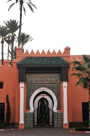 La Mamounia Marrakech: Eingangstor