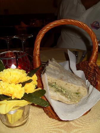 Restaurante Equestre: bolo do caco