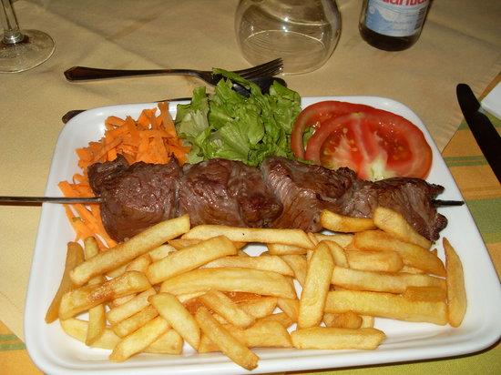 Restaurante Equestre: espedata di carne