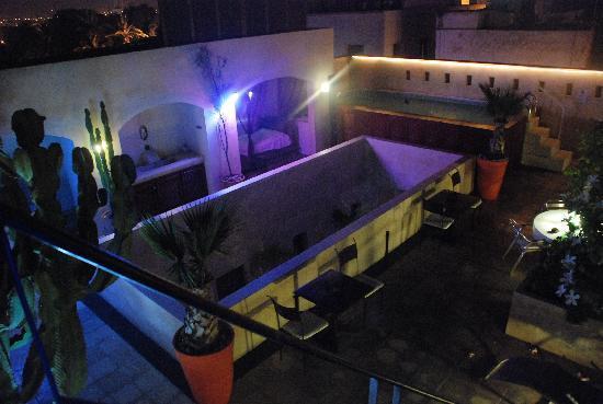 Riad La Villa & SPA : la terrasse de nuit
