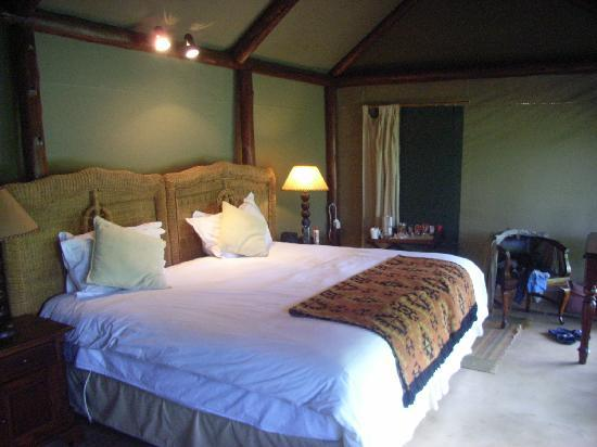 Thornybush Private Game Reserve, Sør-Afrika: Zimmer im Bungalow