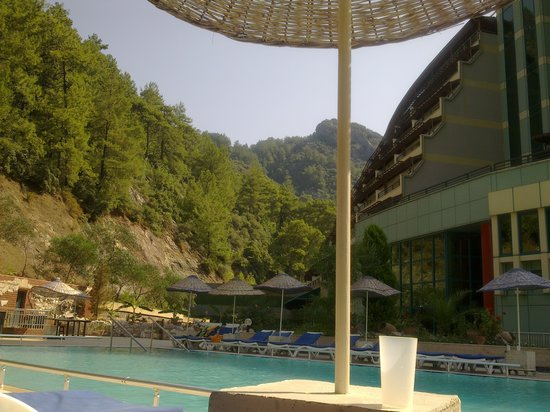 Panorama Park Hotel: The view from the pool bar