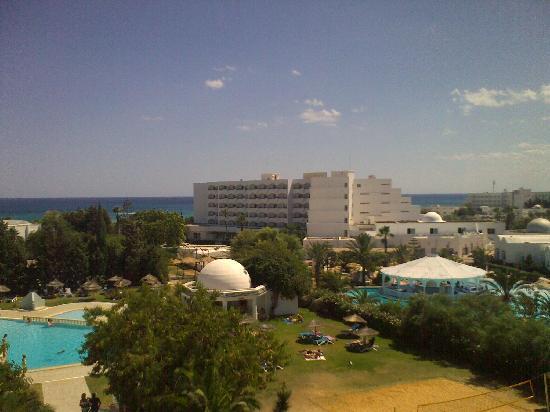 Kinza Hotel: vue de chambre 1