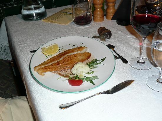 Hotel Schlehdorn: leckeres Abendessen