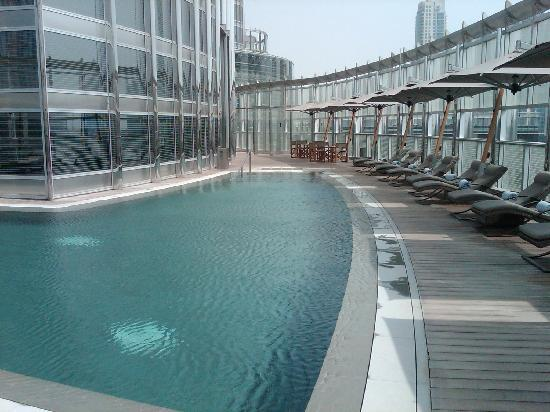 Burj khalifa picture of armani hotel dubai dubai tripadvisor for Burj khalifa swimming pool 76th floor