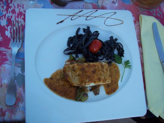 Hotel Restaurant La Porte des Cevennes : exemple de plat