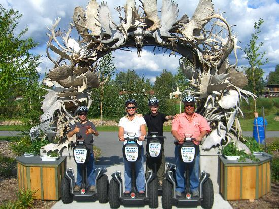 EcoSeg Alaska: Family shot