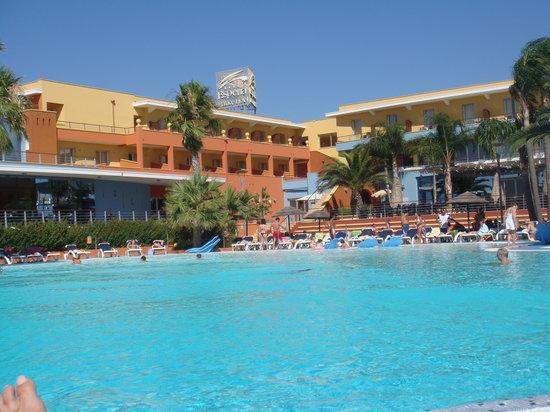 Esperia Palace Hotel : panoramica della struttura