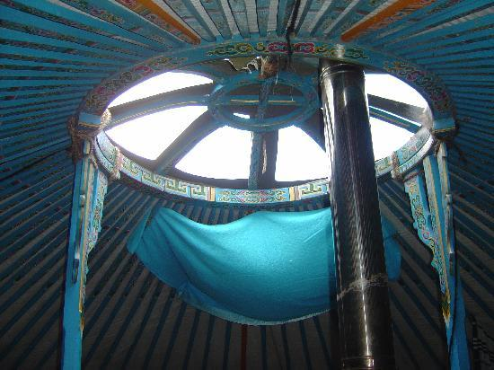 Blackdown Yurts - Yurt Holidays in Devon: The beautiful Yurt