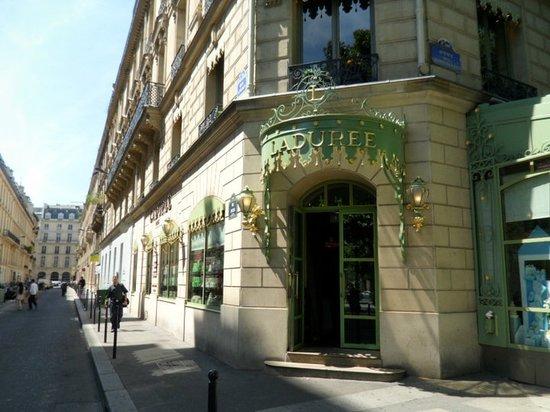 Laduree Paris Rue Jacob Champs Elysees Restaurant