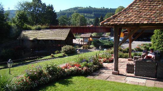 Hotel Julien: parc