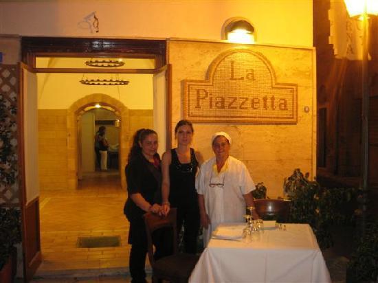La Piazzetta: La cuoca