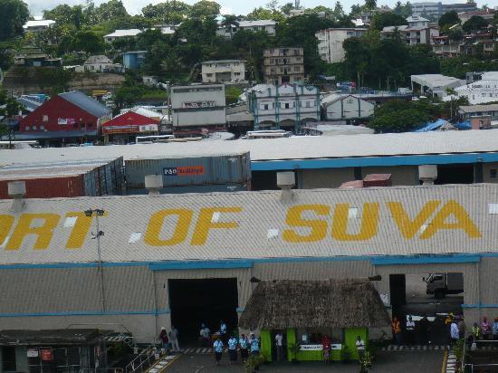 Suva - Ankunft an Kings Wharf